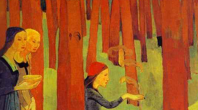 Paul Sérusier, ''le trait d'union'' (1864-1927)