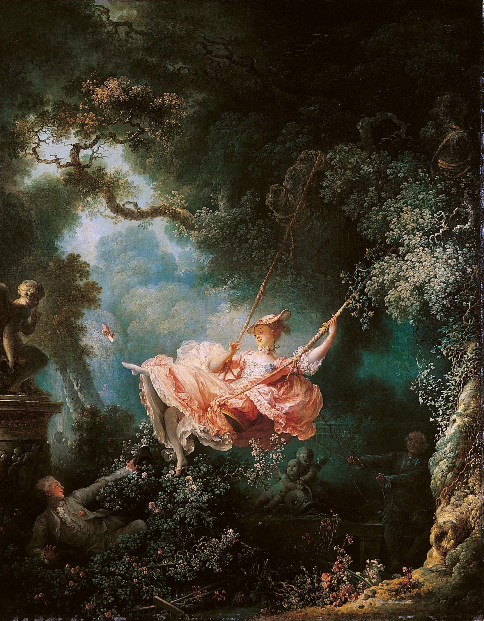 Jean-Honoré Fragonard, peintre de la légèreté
