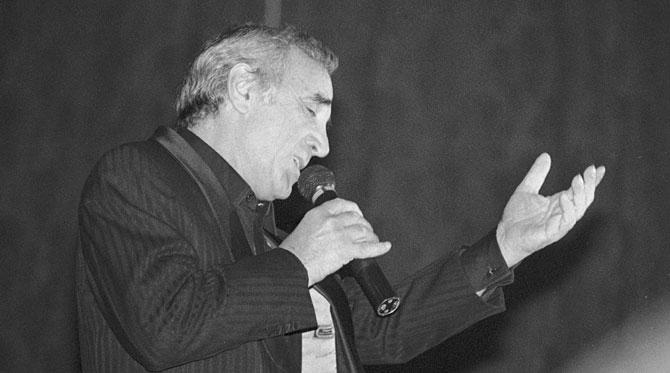 Aznavour, grand maître de la chanson française