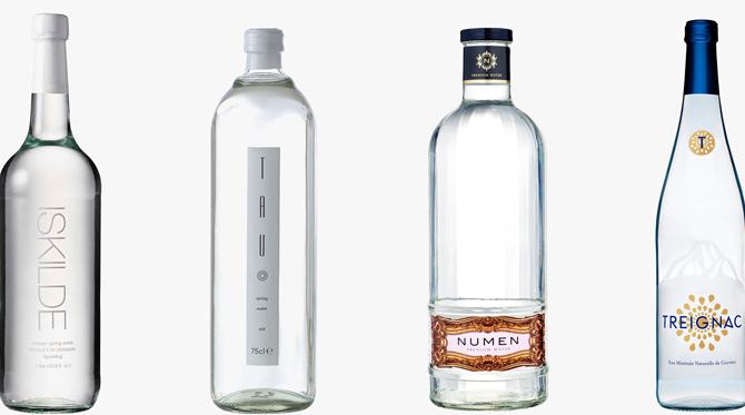 L'eau, un produit très tendance