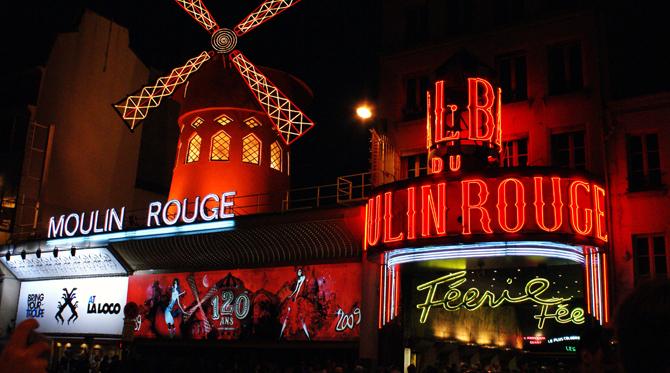 Cafés et cabarets… Ça, c'est Paris !