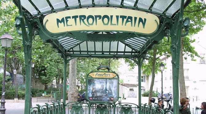 Paris balade souterraine