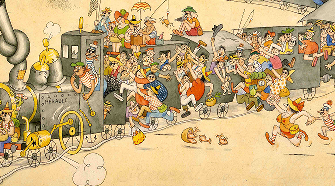 « Albert Dubout, le fou dessinant »