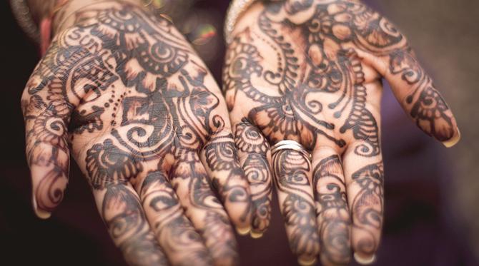 Le tatouage  au henné