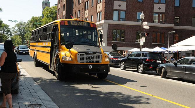 La rentrée scolaire des autobus électriques