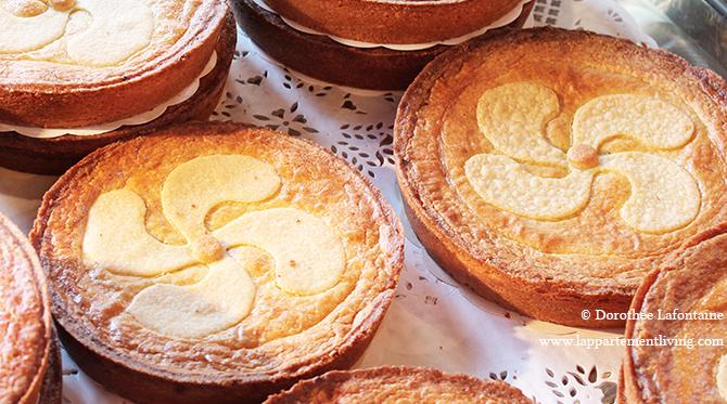 Le célèbre gâteau basque