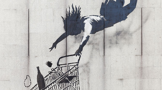 Banksy: un artiste  street art très engagé