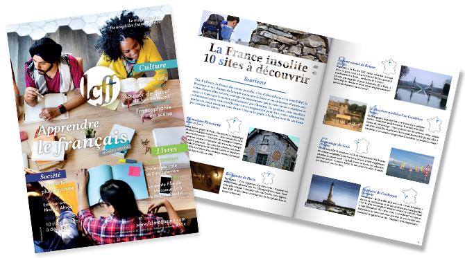 DÉCOUVREZ LE NOUVEAU MAGAZINE N°38 : APPRENDRE LE FRANçAIS