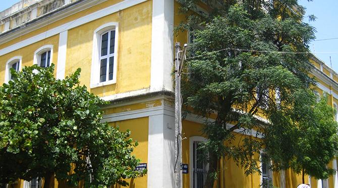 Pondichéry, un petit air de  Provence en Inde