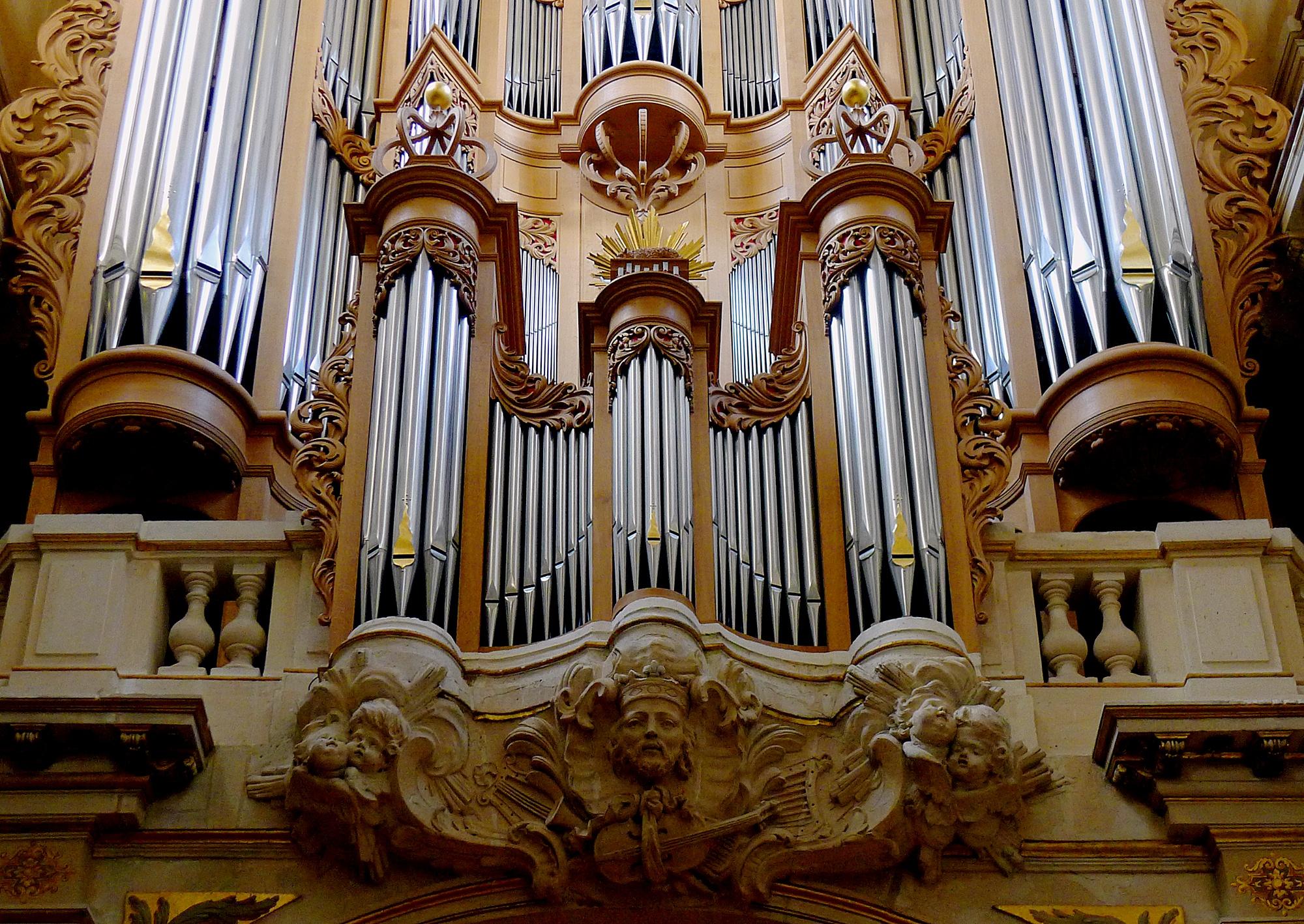 Les grandes orgues