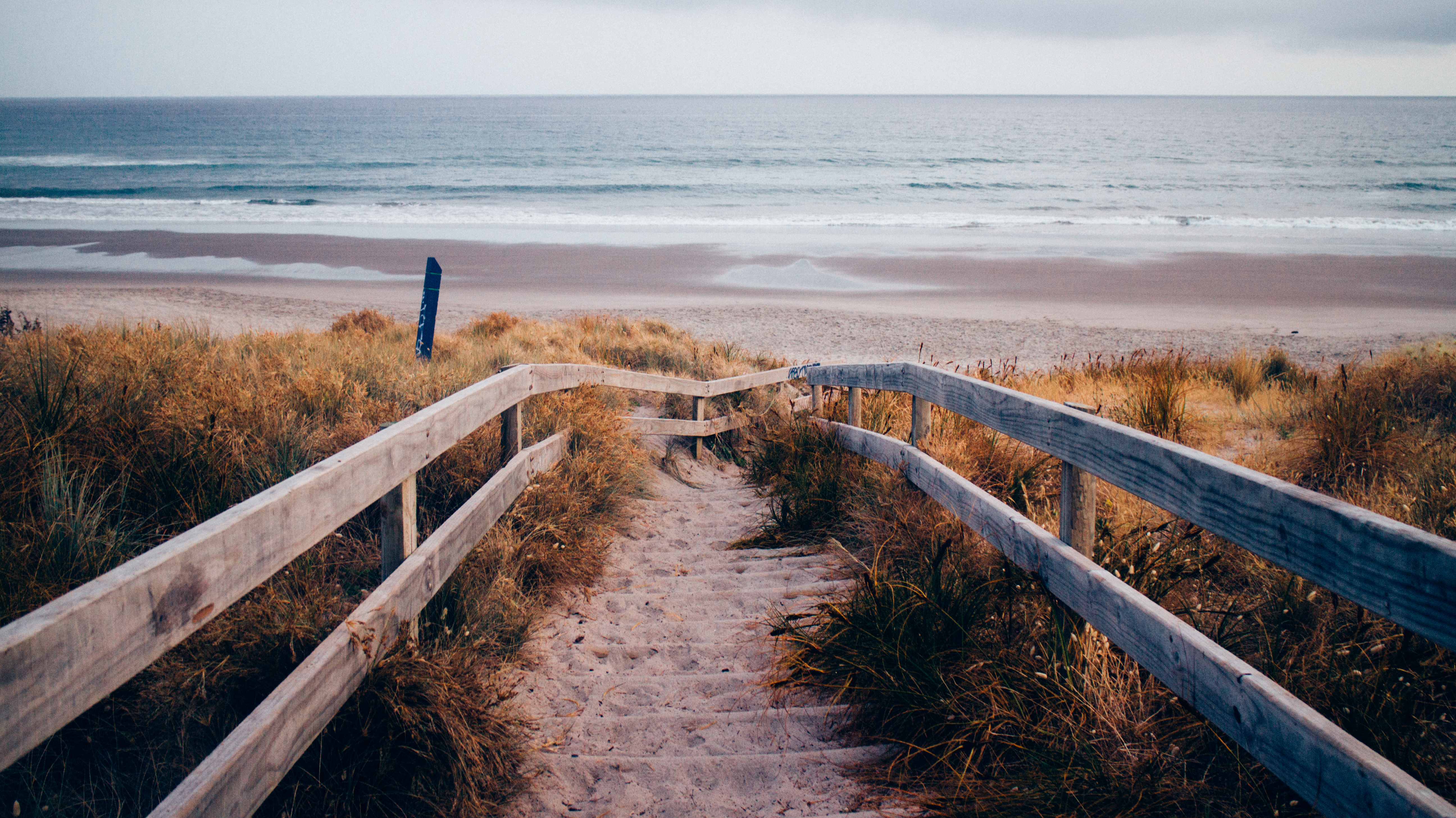 Accès direct à la plage  de Jean-Philippe Blondel
