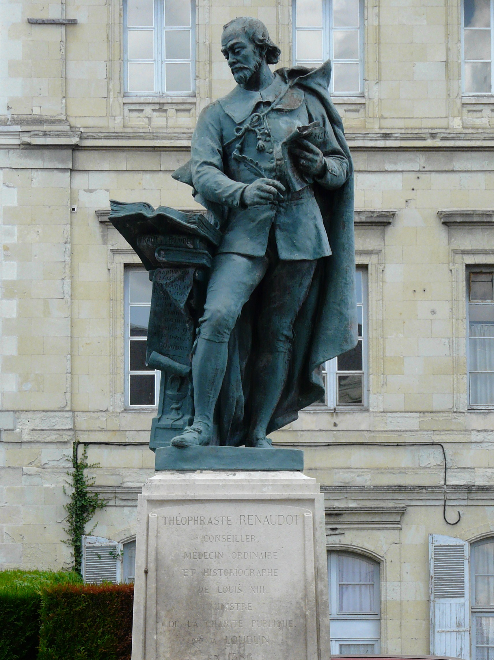 Théophraste Renaudot,  le premier journaliste français