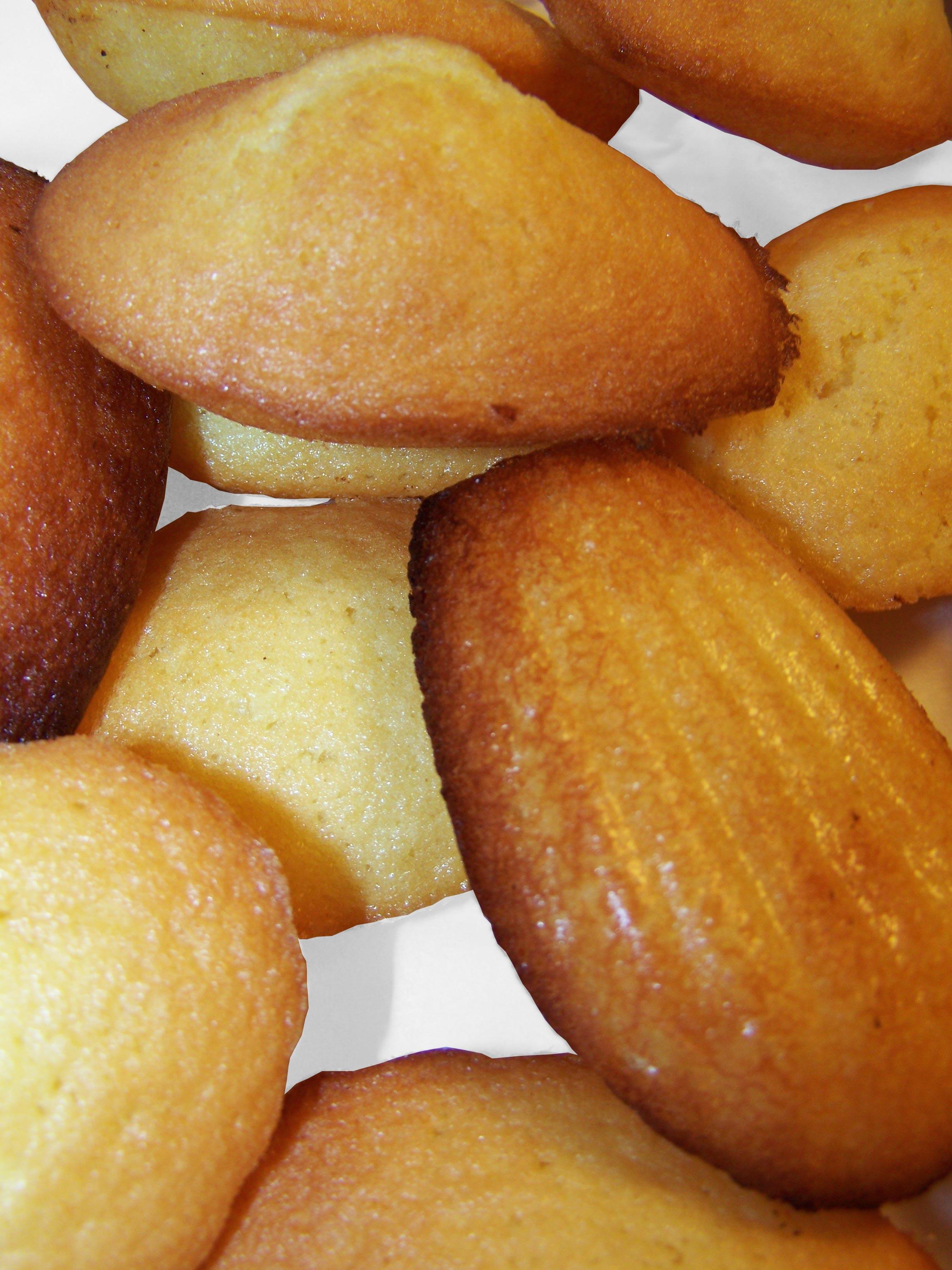 La recette de pâtisserie : Les Madeleines