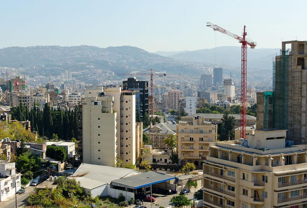 Un jardin sur les  toits de Beyrouth