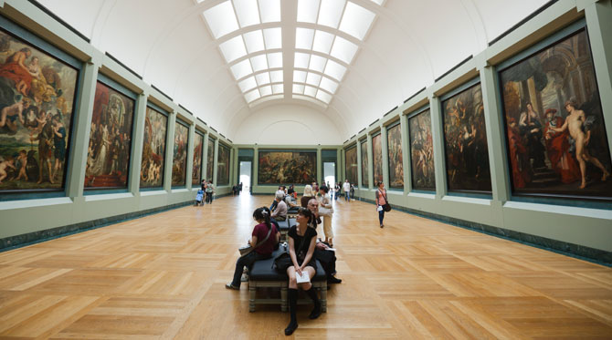 Pourquoi aller au Louvre