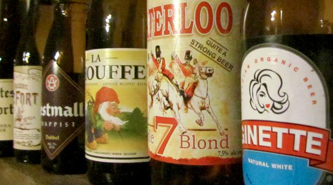 La bière,  une spécialité belge