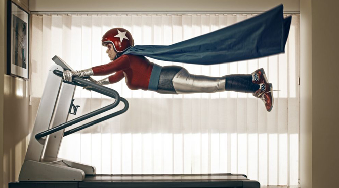 Sacha Goldberger et les super-héros