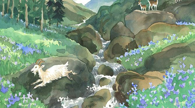 Alphonse Daudet La chèvre de M. Seguin