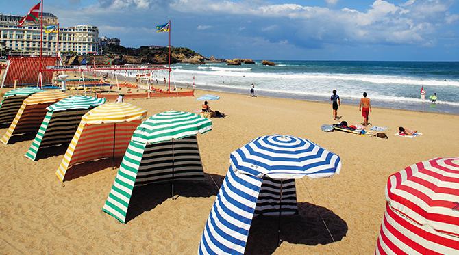 Biarritz, entre Pyrénées et océan