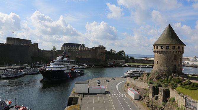 Le rôle de la marine à Brest