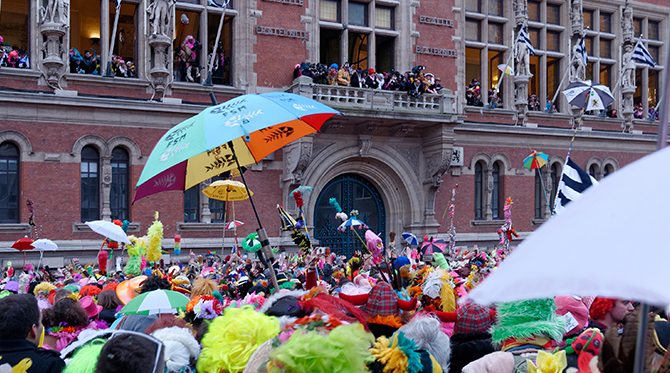 En carnaval à Dunkerque