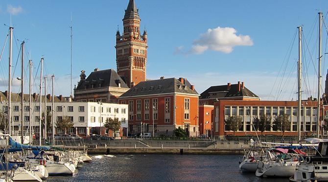 Dunkerque  le grand port français de la Mer du Nord