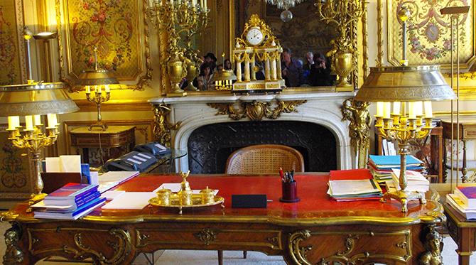République française:  la séparation des pouvoirs