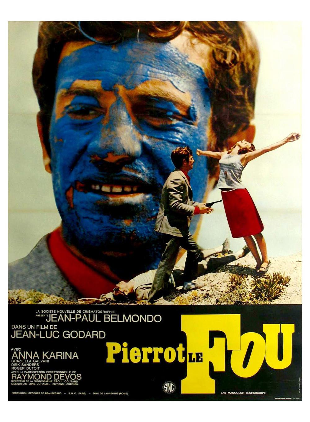 Pierrot le fou de Jean-Luc Godard