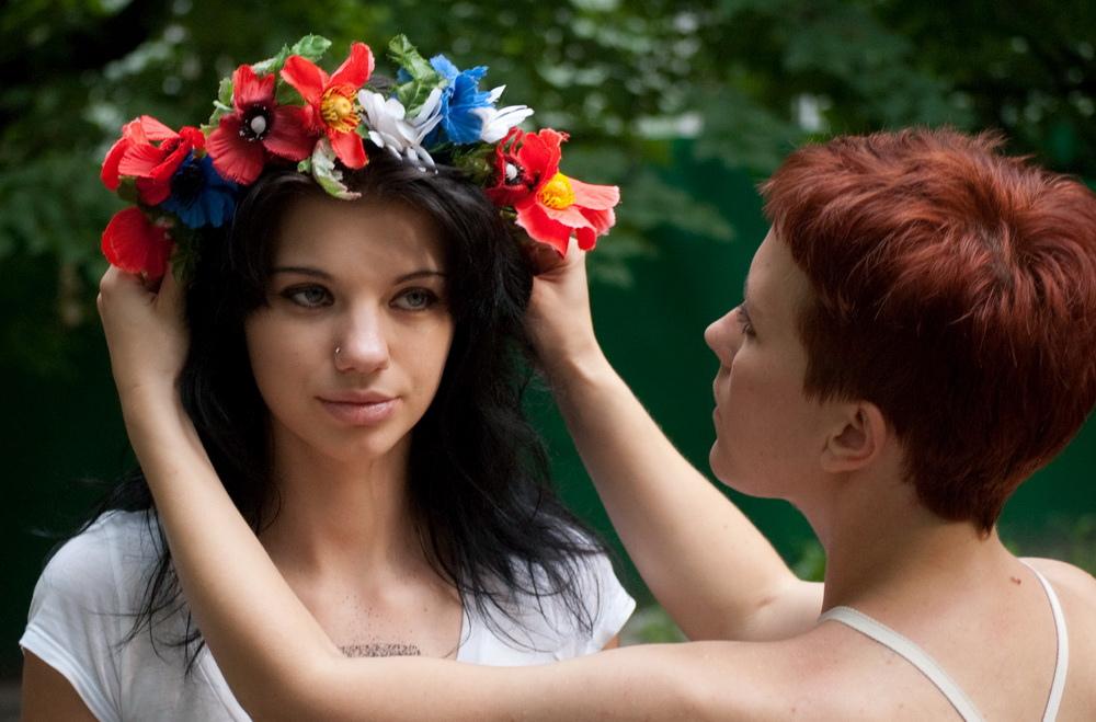 La vinok ukrainienne