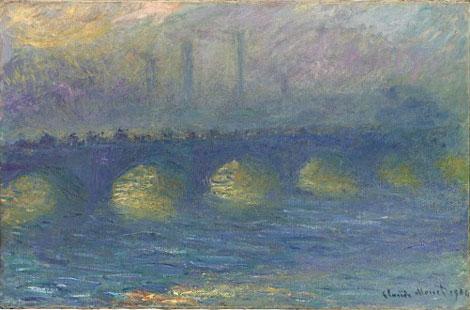 Claude Monet  impressionné par Londres