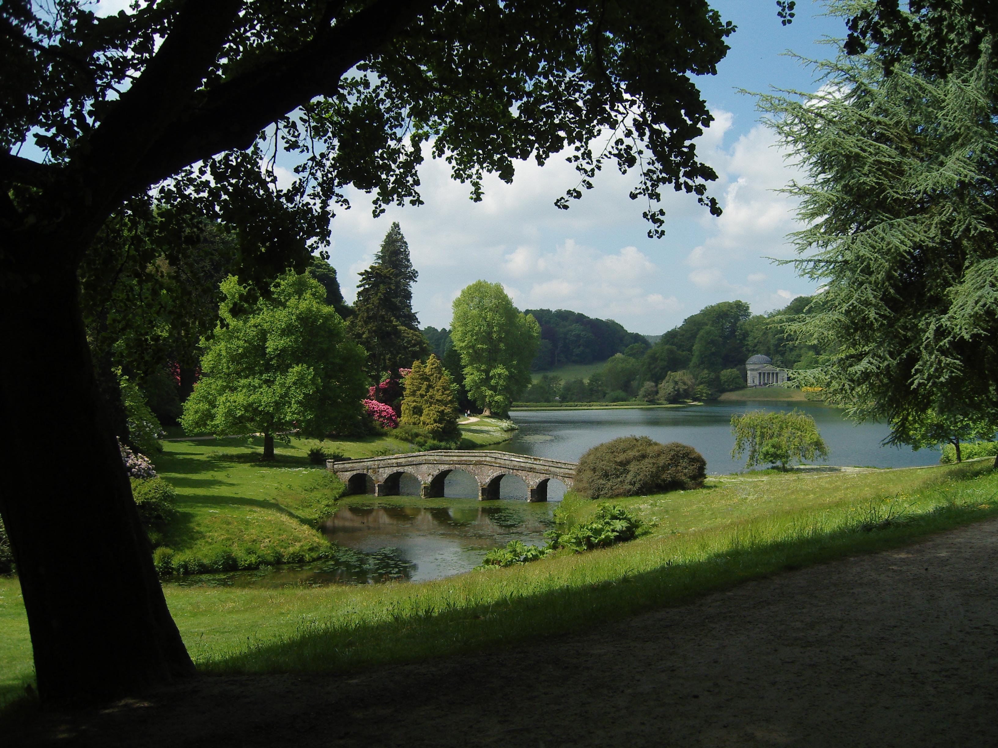 L'art du  jardin à l'anglaise